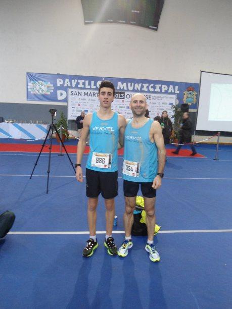 Alberto Valverde y Juan Carlos Valverde