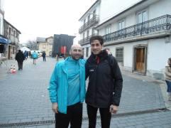 Juan Carlos con Pedro Nimo